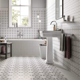 Grey Bathroom Tiles Uk patchwork and patterned tiles