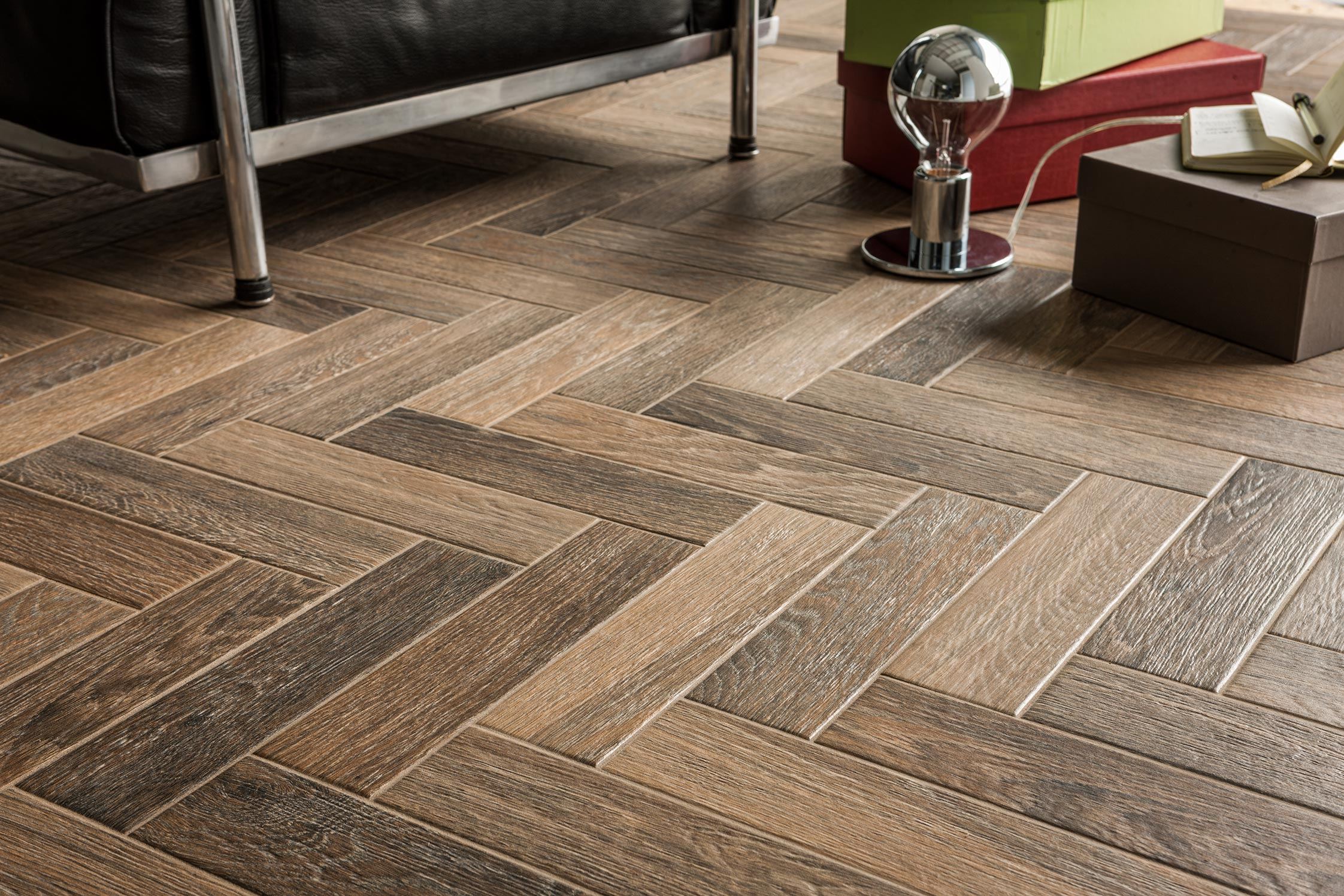 Create a bathroom to be proud of our vancouver country dark wood effect porcelain tile is definitely one to consider dailygadgetfo Images