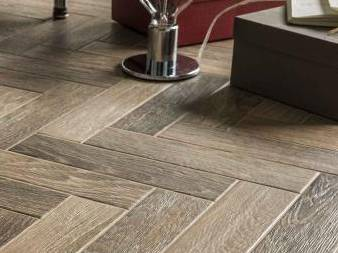 French Parquet wood effect tiles