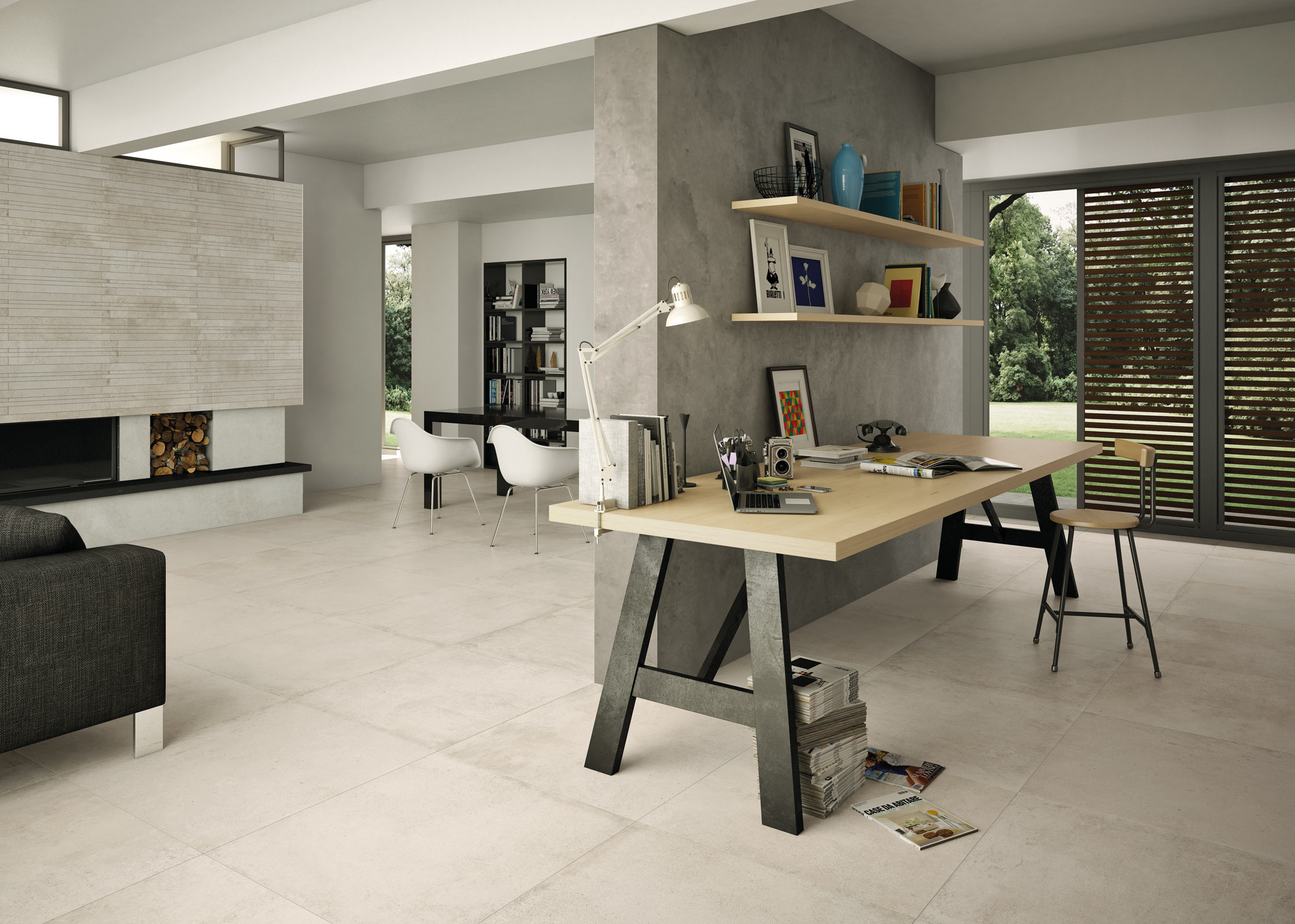 get creative with concrete and stone effect tiles – san gimignano