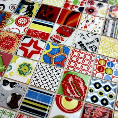 Delighted 12X12 Acoustic Ceiling Tiles Thick 12X12 Ceramic Floor Tile Rectangular 2 X 4 Ceiling Tiles 20 X 20 Floor Tiles Old 3D Glass Tile Backsplash Bright3X6 Beveled Subway Tile Get Creative With Pop Art Wall Tiles