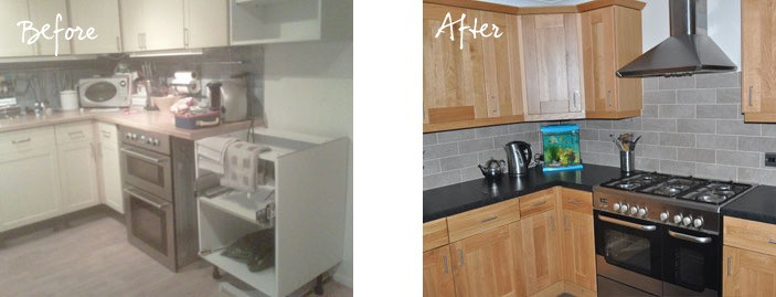 Mrs Monks Kitchen Before And After