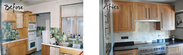 Lisa Jane's Kitchen Before and After