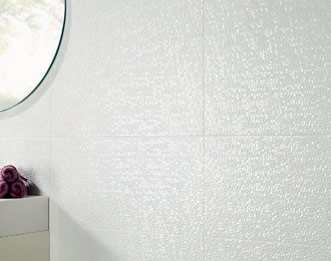 capua textured white tiles