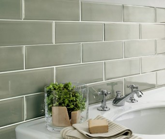 edge sage green kitchen tiles