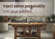 Inject some personality into your kitchen