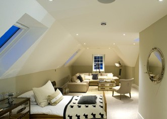 loft conversions with floor tiles
