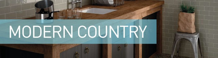 modern country kitchen tile style