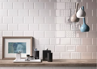 michelino pattened wall tiles