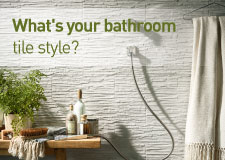 What's your bathroom tile style?