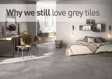Why we still love grey tiles