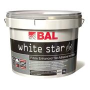 10 Litre BAL White Star Plus Wall Tile Adhesive