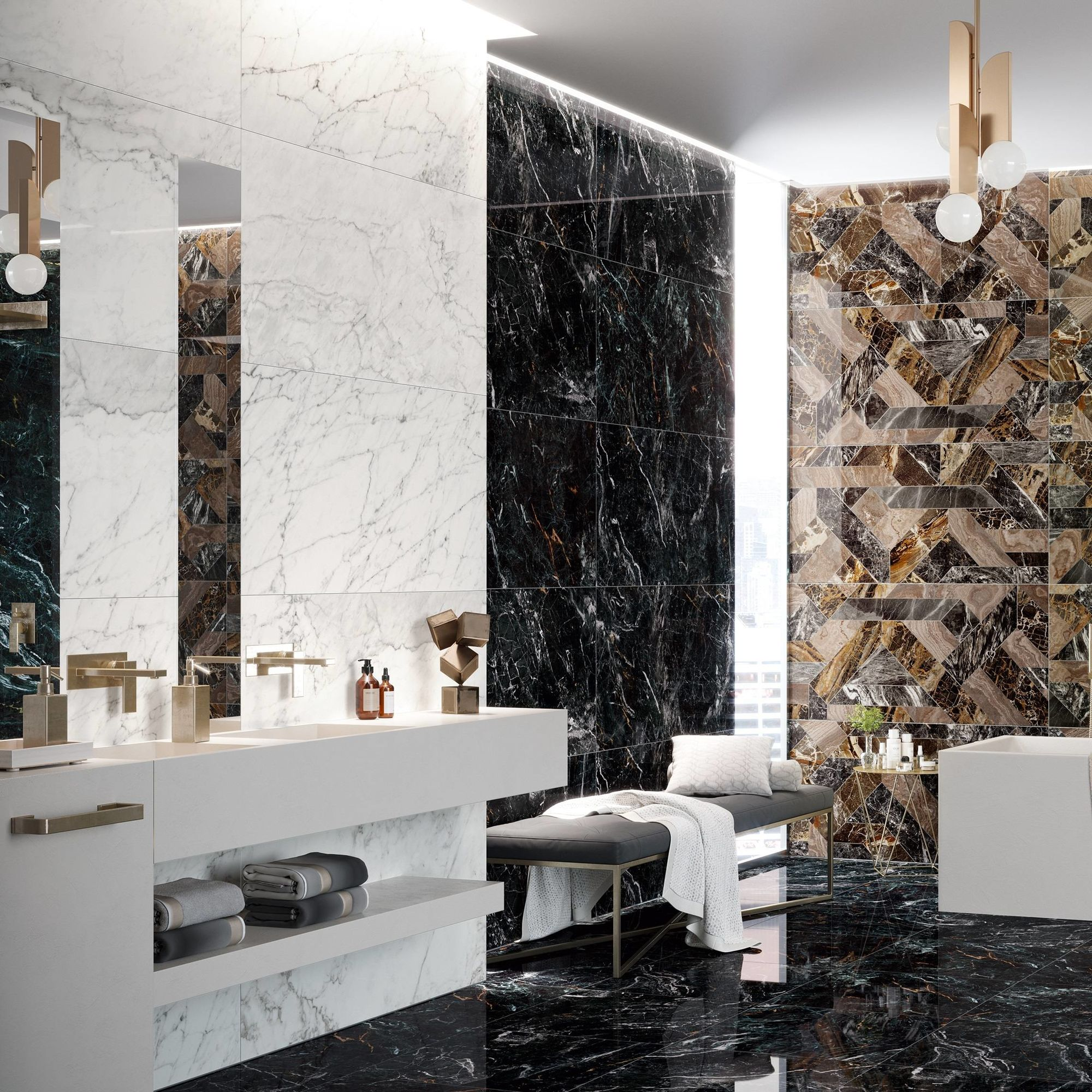 Rome Dark Wave Polished 1200x600x7mm
