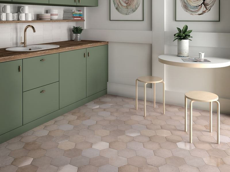 How To Make A Small Kitchen Feel Large With Tiles Tileflair